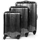 Originale Set di 3 valigie Dijon di FERGÉ FERGÉ - la marca innovativa francese sinonimo di materiali innovativi a basso impatto ambientale.  informazioni sono disponibili sul sito internet Ferge ParisSet di tre valigie rigide realizzate con m...