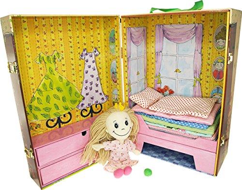 Barbo Toys-6191-Hans Christian Andersen Principessa e Il pisello Bring-a-Long Valigia