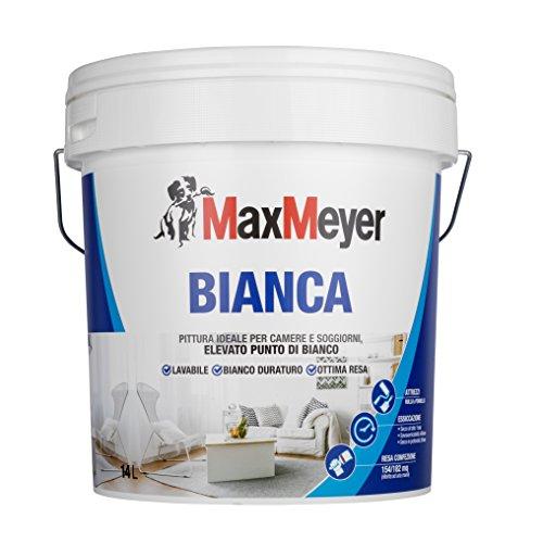 Maxmeyer 164485l580002 lavabile per interni bianca 14 l