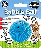Pet Qwerks Babble Ball, Small, Blue