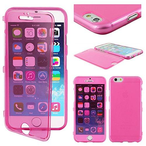 """ebestStar - pour Apple iPhone 6S 6 Plus écran 5,5"""" - Housse Etui Coque Silicone Gel Portefeuille, Couleur Violet [Dimensions PRECISES de votre appareil : 158.1 x 77.8 x 7.1 mm, écran 5.5''] Rose"""