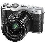 "Fujifilm X-M1 KIT 16-50 EE TD - Cámara EVIL de 16.5 Mp (pantalla de 3"", objetivo 16.0-50.0mm f/3.5, zoom óptico 3x, estabilizador de imagen) color plateado"