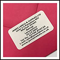 260 White Personalised Address Labels/Return Address Labels - Amazon TOP Sellers!