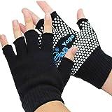Best Yoga Gloves - Covermason Yoga Sports Gloves Semi Finger Anti Slip Review