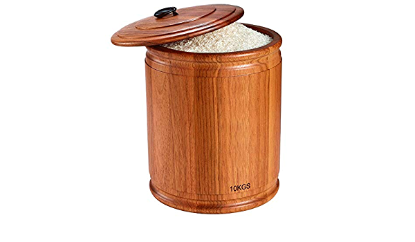 mingtongli Cereali Dispenser Storage Box Caso Cucina cibi Farina di Riso Contenitore a Prova dumidit/à con Misuratore Cup