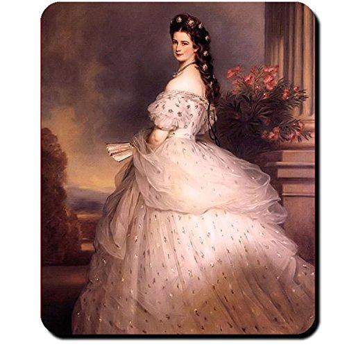 Preisvergleich Produktbild Sissi Elisabeth von Österreich Ungarn Lisi Wien Kaiserin Bild Gemälde - Mauspad Mousepad Computer Laptop PC #10426 M
