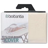 Brabantia Perfect Fit Cover Fodera Stiramaniche, Tessuto, Beige (Ecru), 60 x 10 cm