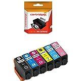 Set von 6cartridgex Hohe Kapazität Kompatibel Tintenpatrone MultiPack Ersatz für 378x l-für Epson xp-15000xp-8500xp-8505