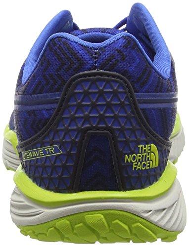 The North Face M Litewave Tr, Trail Homme Bleu (Blue Quartz/Lantern Green)