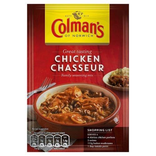 Colman's Chicken Chasseur Recipe Mix 43g - Reduziert, kurzes MHD Jun. 2013 Sauce Chasseur