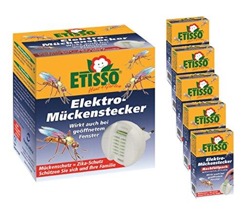 électrique prise anti-moustiques Set 1 + 5