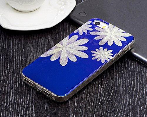 JIALUN-étui pour téléphone Pour Apple IPhone 5 & 5s & SE Case, étui de protection de façade pour téléphone portable ( Color : D ) C
