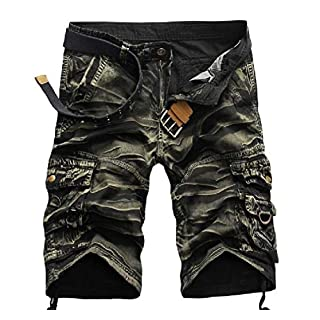 EnergyMen Original Fit Tactical Pants Rugged Wear Shorts AS2 36
