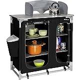 Berger Küchenbox Premium II, schwarz/grau, Maße B 95 x H 95 x T 53 cm,...
