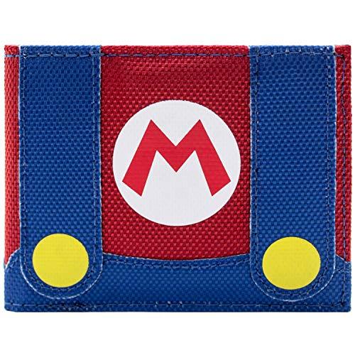 (Super Mario Klempner Outfit Rot Portemonnaie Geldbörse)
