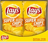Lay's Super Chips gesalzen, 8er Pack (8 x 175 g)