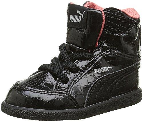 Puma - Ikaz Mid Srp V, Sneaker Bambina Nero (Noir (Black/Black))