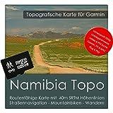 Namibia Garmin Karte TOPO 4 GB microSD. Topografische GPS Freizeitkarte Fahrrad Wandern Touren Trekking Geocaching & Outdoor. Navigationsgeräte
