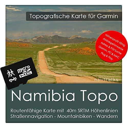 Namibia Garmin Karte TOPO 4 GB microSD. Topografische GPS Freizeitkarte Fahrrad Wandern Touren Trekking Geocaching & Outdoor. Navigationsgeräte, PC & MAC Garmin Streetpilot C580