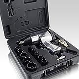 Druckluft Schlagschrauber Set 17-teilig Pneumatik Luftdruck Schlag Schrauber