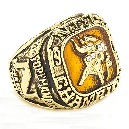 J-Z Das Jahr Der Minnesota Vikings Annual Championship Rings 1973, Gold, 10 (Vikings Minnesota Geburtstag)