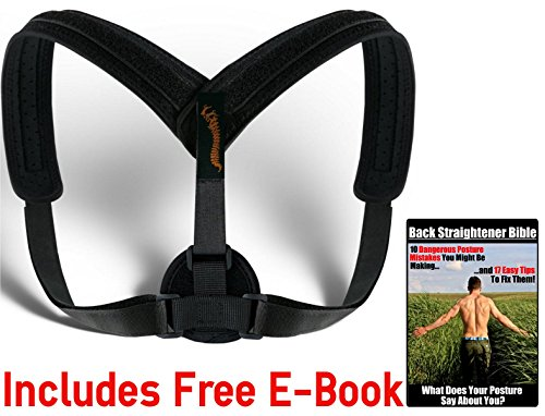 Adjustable Posture Corrector – Exercise Bands