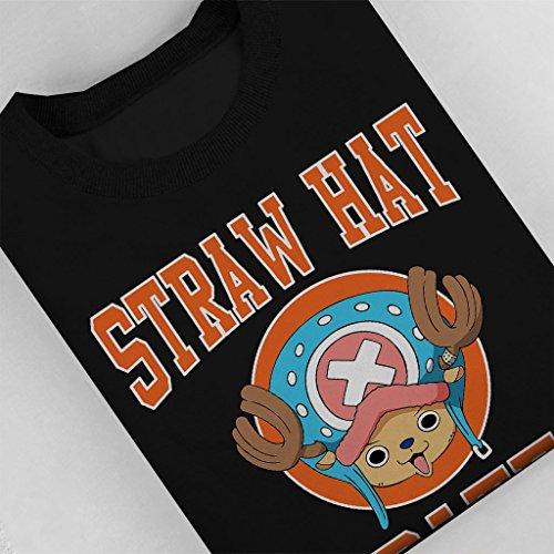 Straw Hat Pirates Tony Tony Chopper One Piece Women's Sweatshirt Black