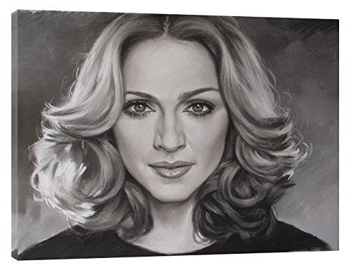 Madonna, auf Leinwand, gerahmt, 30 x 24 inch-18mm depth -