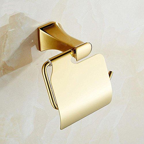 Rame e l'oro placcato d'oro carta igienica