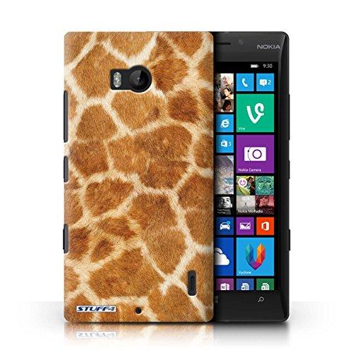 Kobalt® Imprimé Etui / Coque pour Nokia Lumia 930 / Zèbre conception / Série Motif Fourrure Animale Girafe