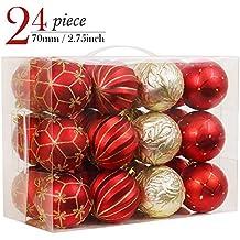 Weihnachtsdeko Silber Rot.Weihnachtsdeko Rot Gold Suchergebnis Auf Amazon De Für