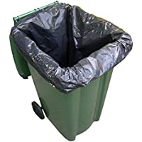 50 Wheelie Bin Liners / Sacks / Refuse Bags For Rubbish On a Roll by Abbey