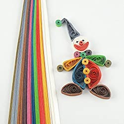 Quill On Metallic Collection Quilling Paper, Multi Color