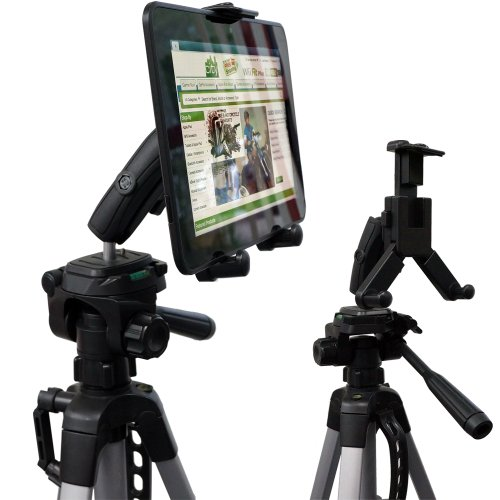 chargercity-hdx-2-tablet-selfie-video-camera-recording-tripod-adapter-mount-w-dual-360-swivel-adjust