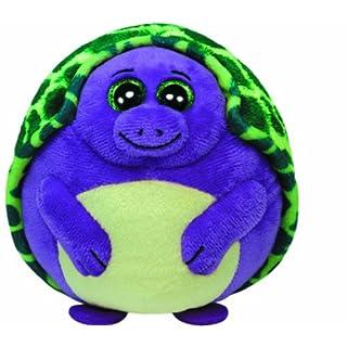 Ty 38125Tiki Ball Tortoise, 12cm, Purple/Green