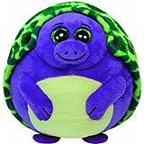 TY 38125 - Tiki Ball - Schildkröte, Durchmesser 12 cm, violett/grün