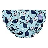 Bambino Mio, couche de bain lavable, baie des baleines, l (1-2 ans)