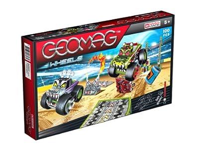 Geomag 707 Wheels Monster Jam - Juego de construcción (94 piezas) [importado de Alemania] de Geomag