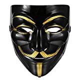 Best Halloween Masks - BIMAGE V for Vendetta Guy Fawkes Anonymous Mask Review