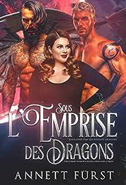 Sous l'Emprise des Dragons: Une sombre romance extra-terrestre à trois (Kidnappée par les Soldats Dragons