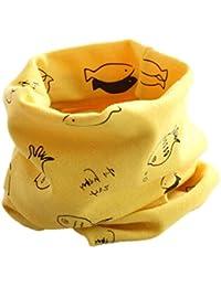 RETUROM Bebé pañuelos de cuello, cuello del algodón del bebé unisex de la bufanda del