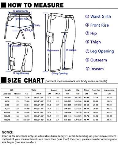 Match Herren Jogging Chino Hose #6535 6535 Khaki