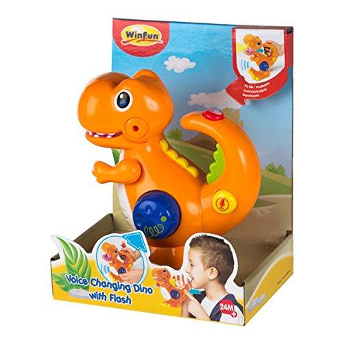 Dinosaurio Grabador y Reproductor de Voz con LED