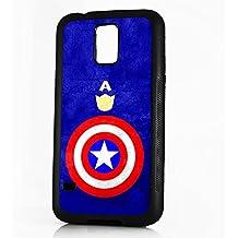 HOT10096 - Carcasa para Samsung S4, a prueba de golpes, diseño de Capitán América