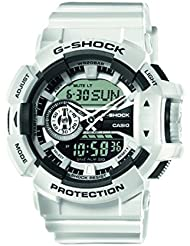 Casio Herren-Armbanduhr Analog - Digital Quarz Resin GA-400-7AER