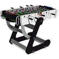 Riley Men's VR-90 4' Folding Football Table, White, 4 ft