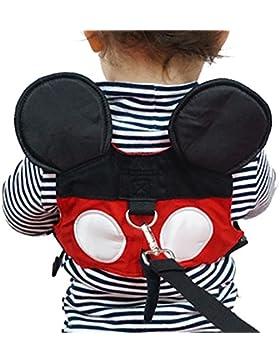 Imbracatura di Sicurezza per Bambini, Yimidear Guinzaglio Anti-perso per Bambini con Cinturino di Sicurezza per...