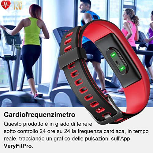 Zoom IMG-2 willful orologio fitness tracker smartwatch