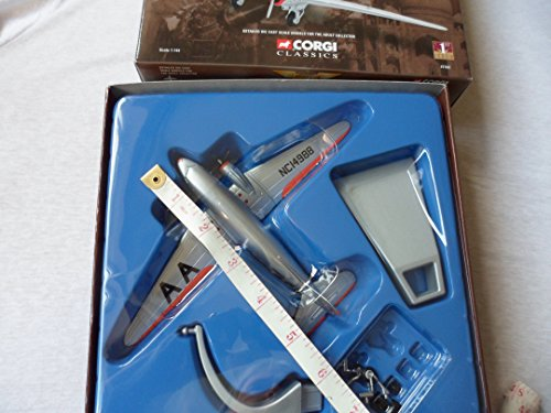 Corgi Classics Aviation Archive Die-Cast Douglas DC-3 American Airlines First Commercial DC-3 - 1:144 scale by Corgi