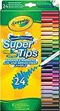 Crayola Super Tips (24- Piece, Multi-Colour)